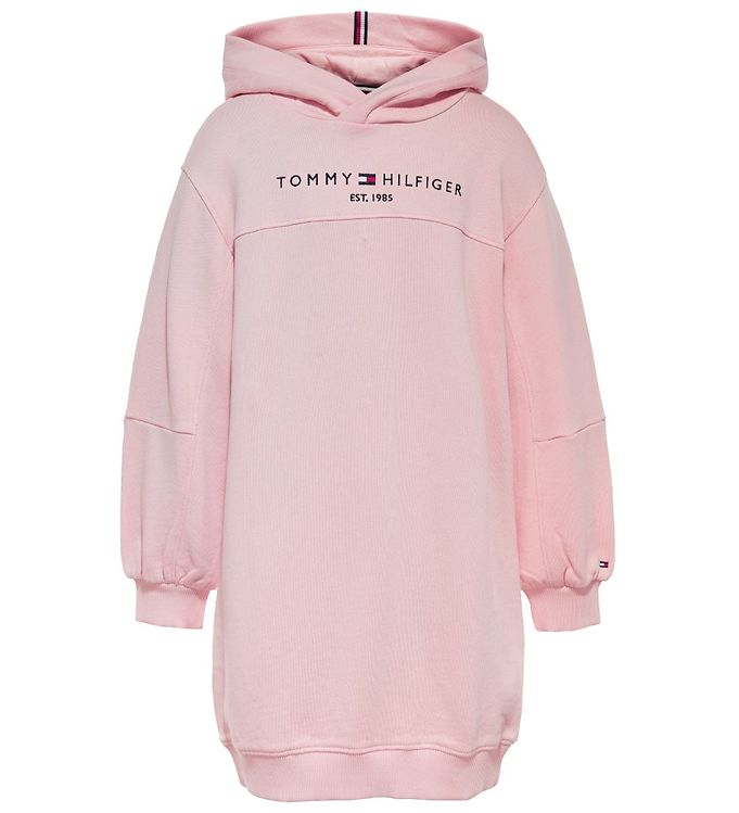 Image of Tommy Hilfiger Sweatkjole - Essential - Delicate Pink (UE391)