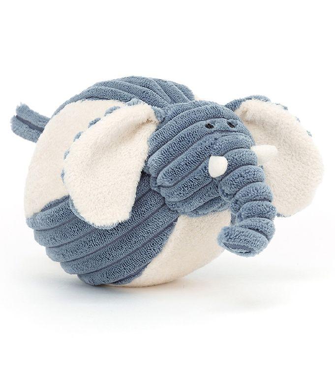 Image of Jellycat Aktivitetsbold - 11 cm - Cordy Roy Baby Elephant (UE549)