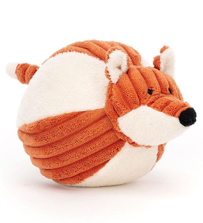 Image of Jellycat Aktivitetsbold - 11 cm - Cordy Roy Baby Fox (UE551)