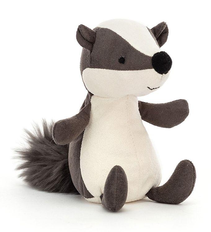 Image of Jellycat Bamse - 13x6 cm - Suedetta Badger (UE565)