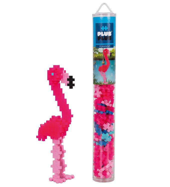 Image of Plus-Plus - 100 stk. - Flamingo (VA050)
