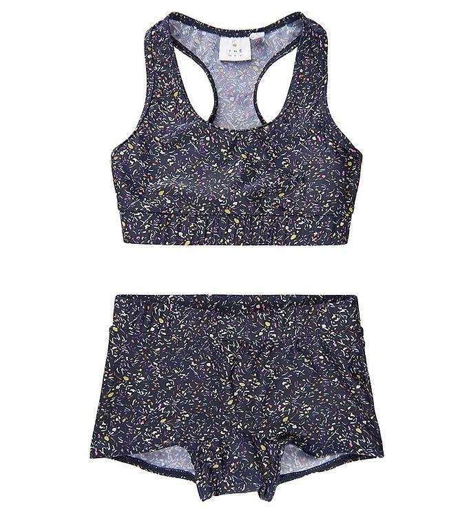 Image of The New Bikini - UV50+ - Tarni - Navy Confetti (VA617)