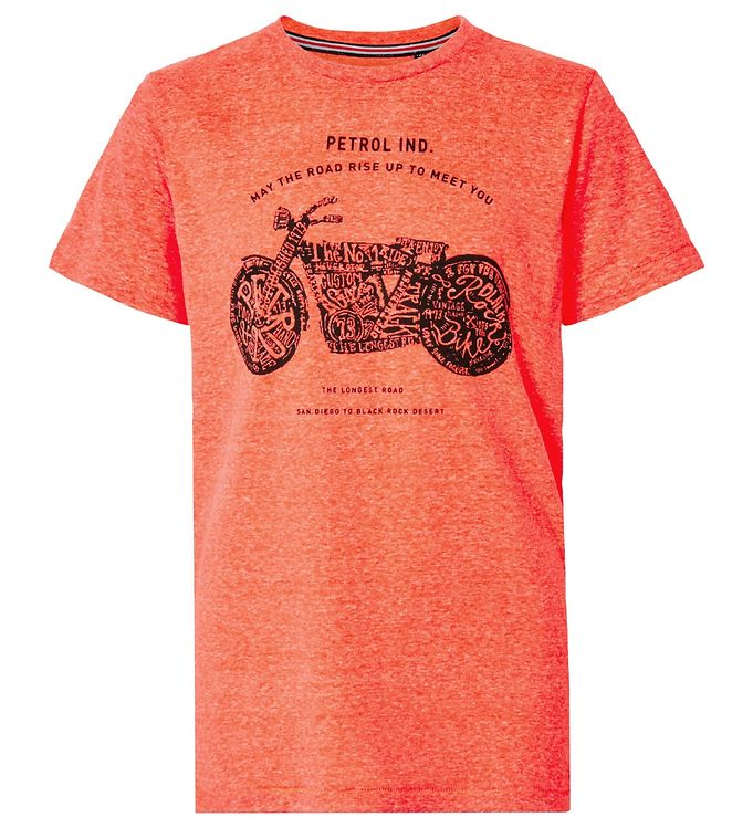 Image of Petrol Industries T-shirt - Fiery Coral (VB070)
