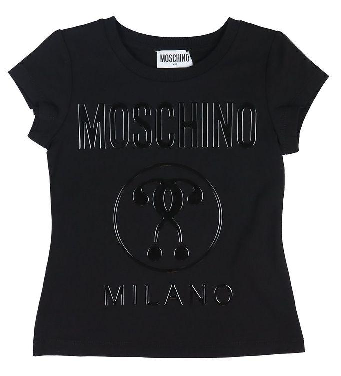 Image of Moschino T-shirt - Sort m. Logo (VB191)