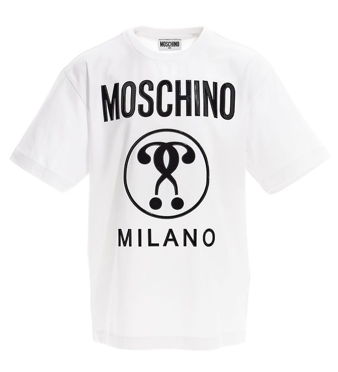 Image of Moschino T-shirt - Hvid m. Logo (VB192)