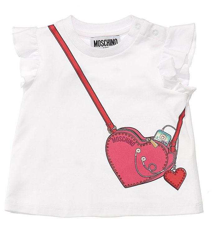 Image of Moschino T-shirt - Hvid (VB194)