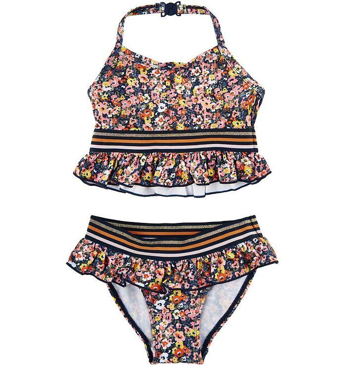 Image of The New Bikini - UV50+ - Tiki - Floral (VB450)