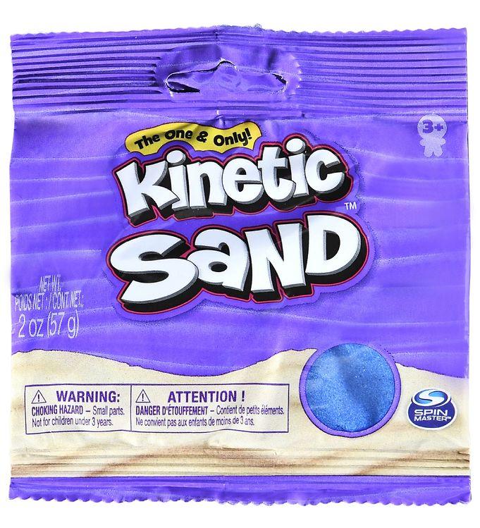 Image of Kinetic Sand Strandsand - 57 gram - Blå (VC478)