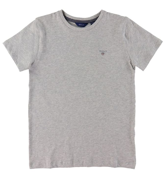 Image of GANT T-shirt - The Original - Gråmeleret (VC842)