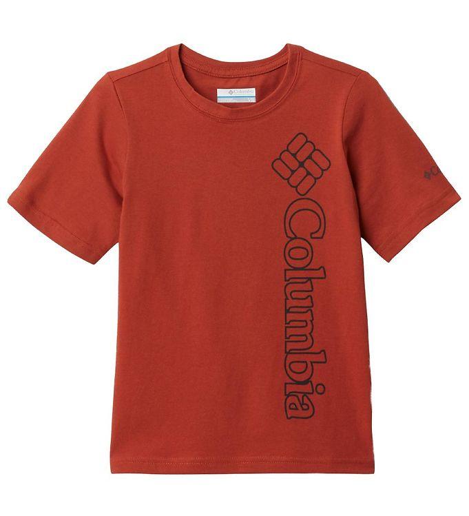 Image of Columbia T-shirt - Happy Hills - Bordeaux (VC960)