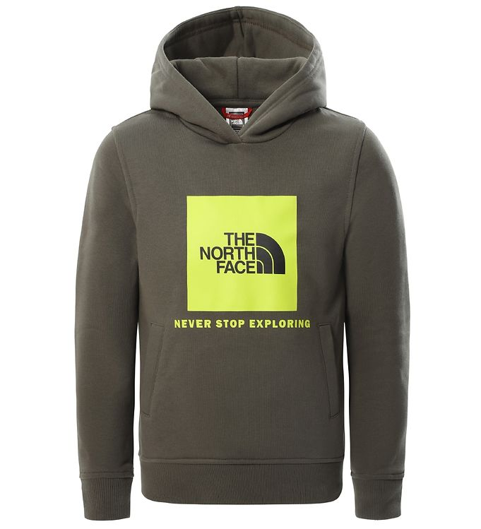 Image of The North Face Hættetrøje - Box - Taupe Green/Spring Green (VD035)