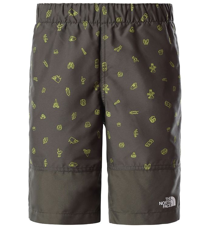 Image of The North Face Badeshorts - Camp Esential - Taupe Green m. Print (VD080)