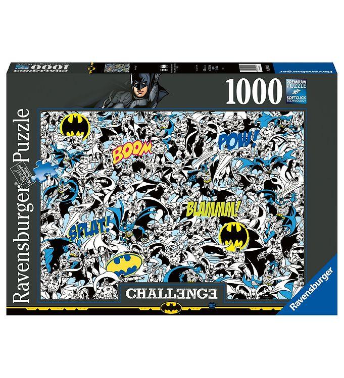 Image of Ravensburger Puslespil - 1000 Brikker - Batman Challenge (VD283)