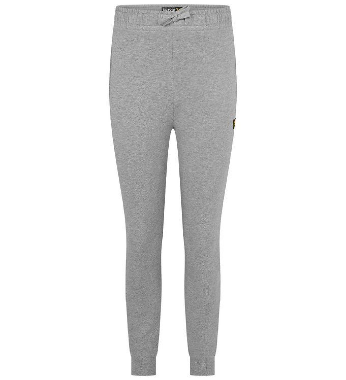 Image of Lyle & Scott Sweatpants - Vintage Grey Heather (VD774)