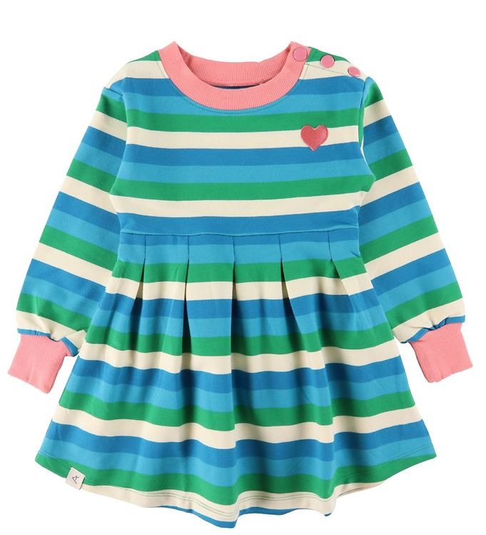 Image of AlbaBaby Kjole - Cool Dance - Jelly Bean Stripes (VE035)
