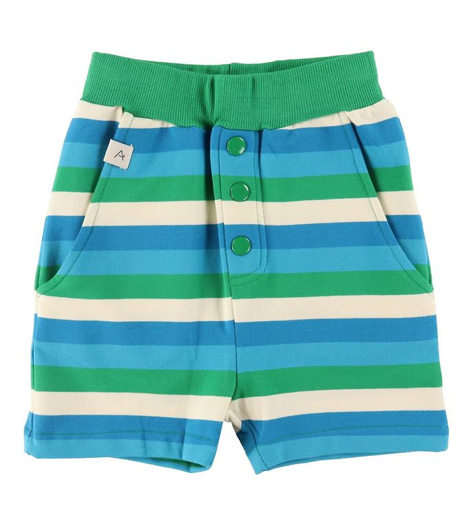 Image of AlbaBaby Shorts - Mike - Jelly Bean Stripes (VE049)