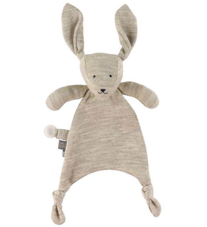 Image of Smallstuff Bamse - 30 cm - Uld - Nature Rabbit (VE194)