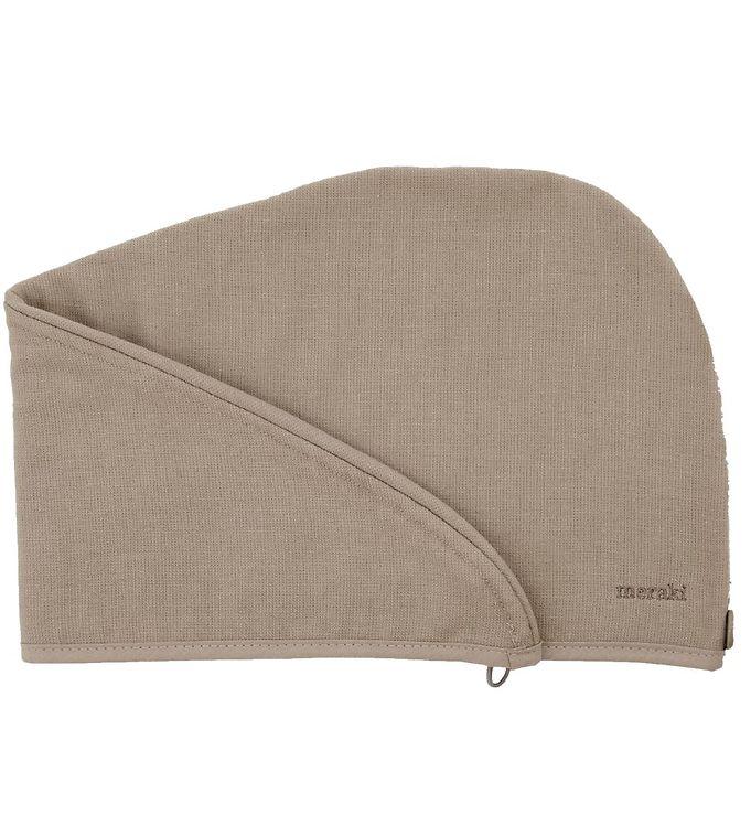 Image of Meraki Håndklæde til Hår - Lunaria - Warm Grey (VE800)