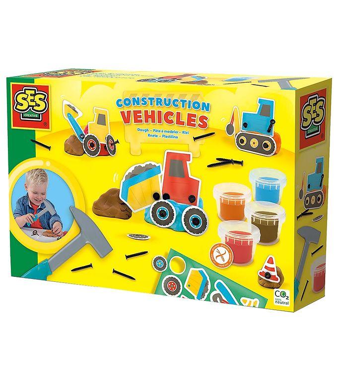 Image of SES Creative Modellervoks - Arbejdsbiler (X016)