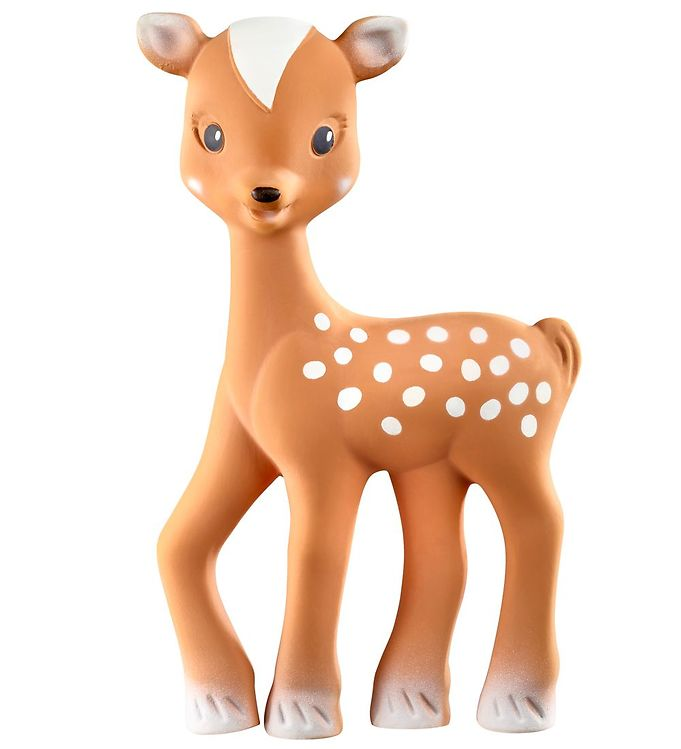 Image of Sophie la Girafe Krammedyr - 16 cm - Fanfan le Faon - Brun (X055)