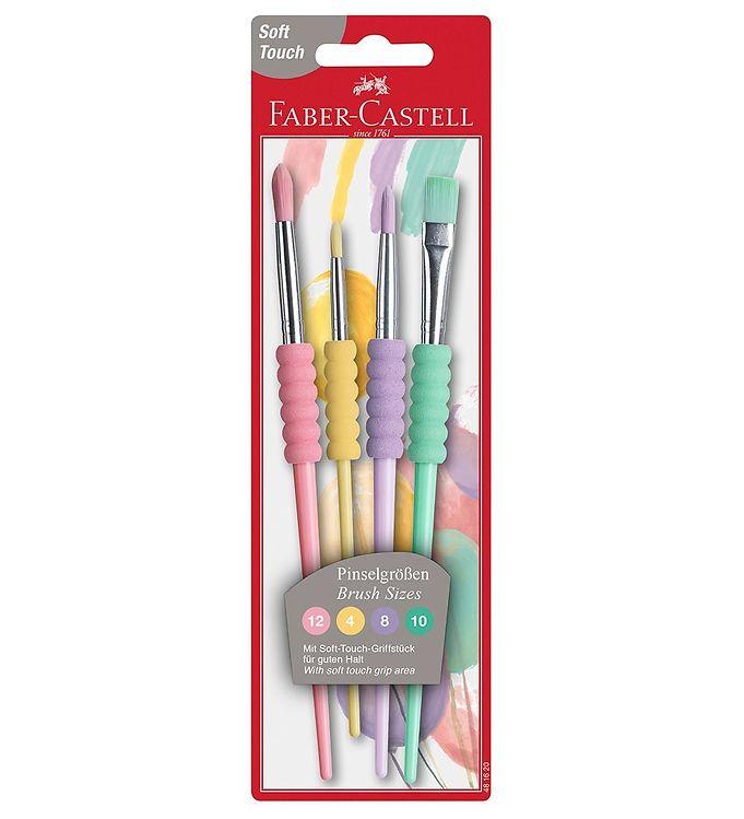 Image of Faber-Castell Pensler - 4 stk - Pastel (X079)