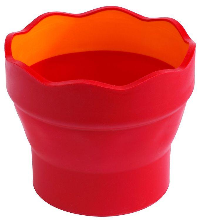 Image of Faber-Castell Kop Til Vand/Pensel - Click&Go - Rød (X093)