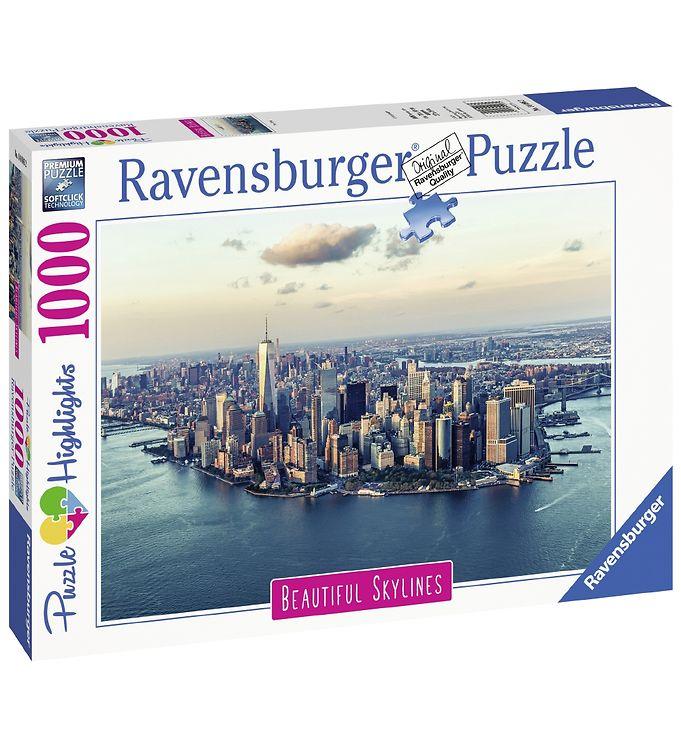Image of Ravensburger Puslespil - 1000 Brikker - New York (X202)