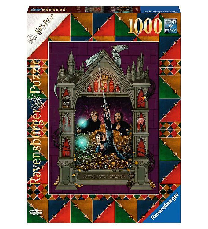 Image of Ravensburger Puslespil - 1000 Brikker - Harry Potter & The Death (X205)