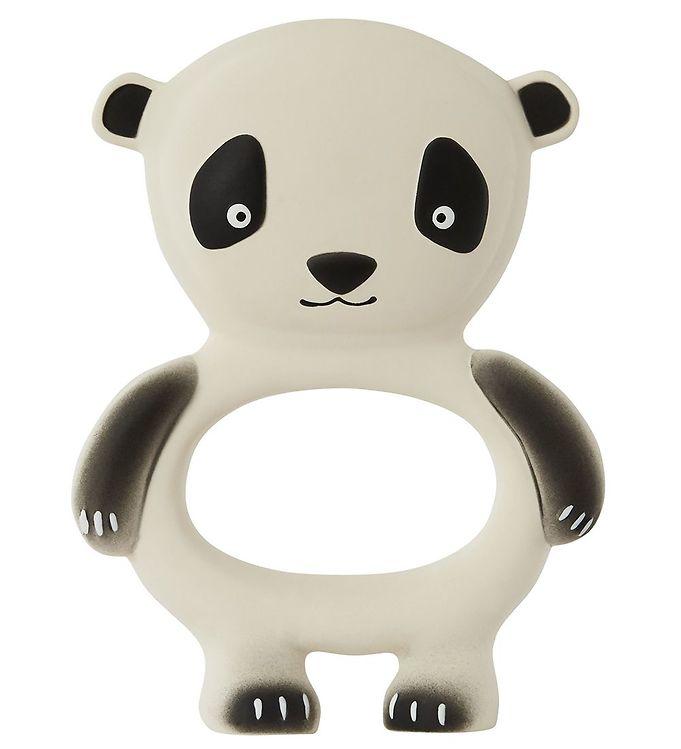 Image of OYOY Bidering - Panda - Råhvid/Sort (X275)