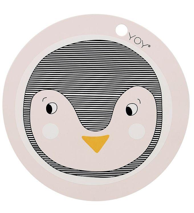 Image of OYOY Dækkeserviet - Penguin - Rosa (X279)