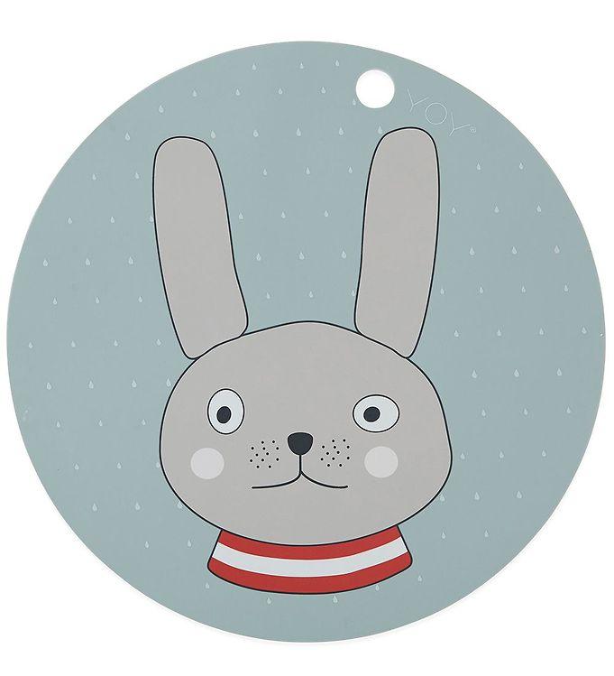 Image of OYOY Dækkeserviet - Rabbit - Mint (X310)