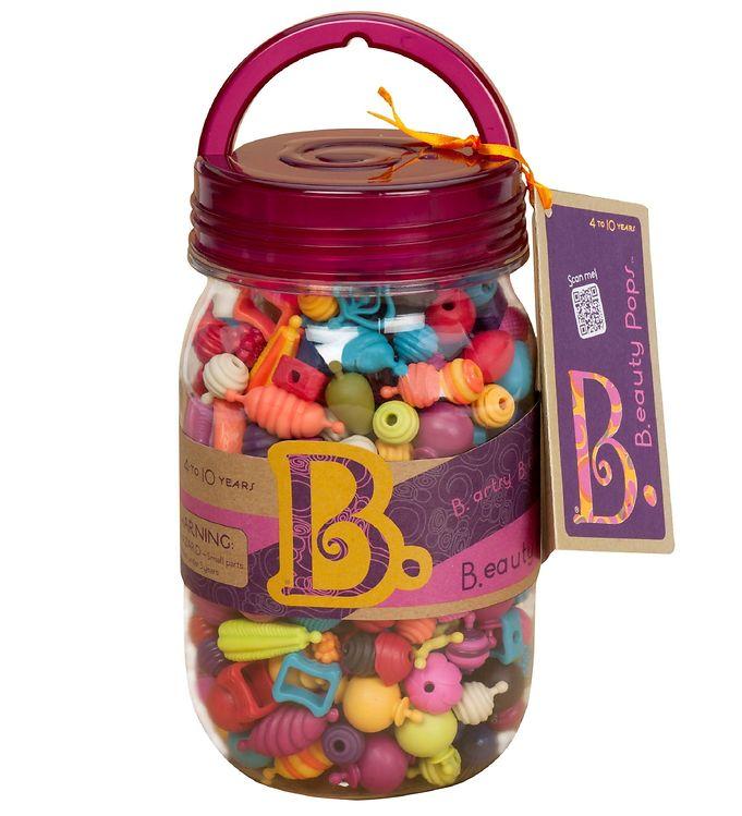 Image of B. toys Klikperler - B.eauty Pops - 275 stk (XA089)