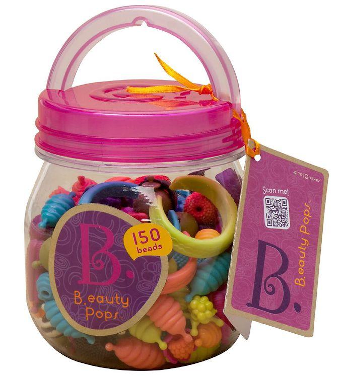 Image of B. toys Klikperler - B.eauty Pops - 150 stk (XA090)