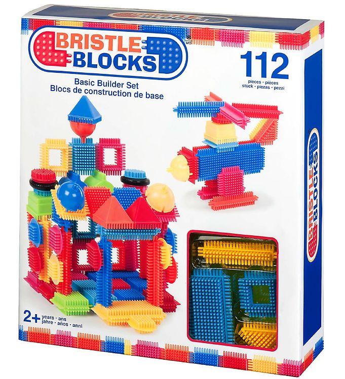 Image of Bristle Blocks Klodser - 112 dele - Basic Builder Sæt (XA091)