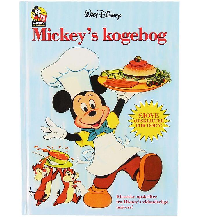 Image of Karrusel Forlag Bog - Disney - Mickey's Kogebog (XA100)