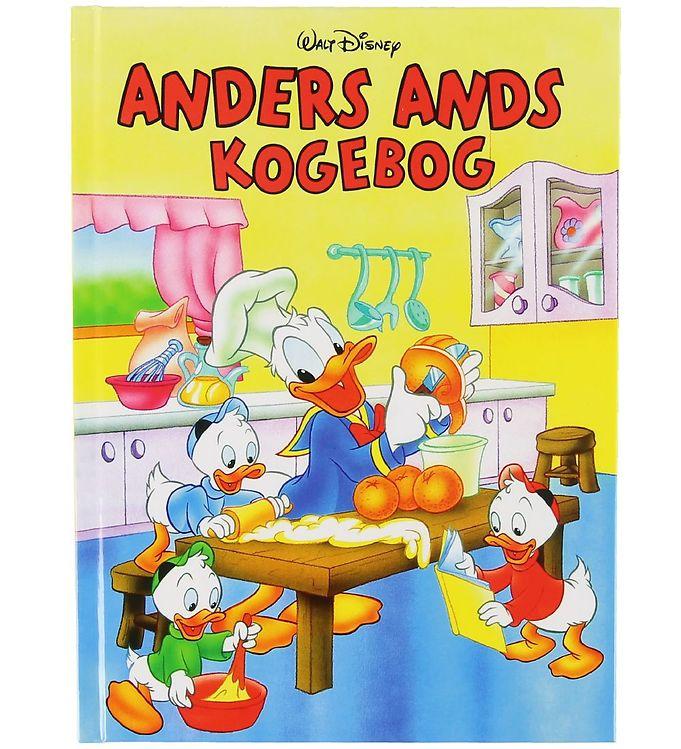 Image of Karrusel Forlag Bog - Disney - Anders Ands Kogebog (XA121)