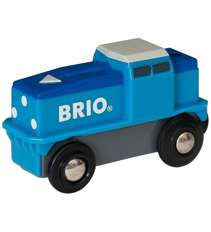 BRIO World Cargo Tog - Batteridrevet - BRIO,BRIO Trælegetøj - Brio