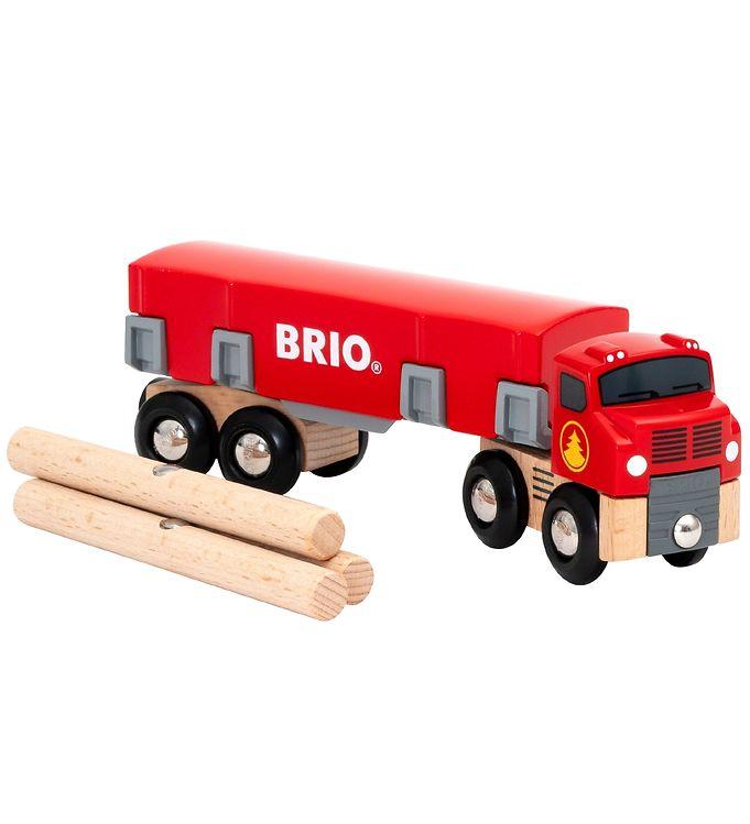 BRIO Trækvogn - 6 dele - BRIO,BRIO Trælegetøj - Brio