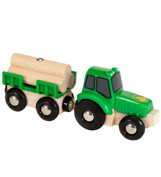 BRIO Traktor m. Last - 4 dele - BRIO,BRIO Trælegetøj - Brio