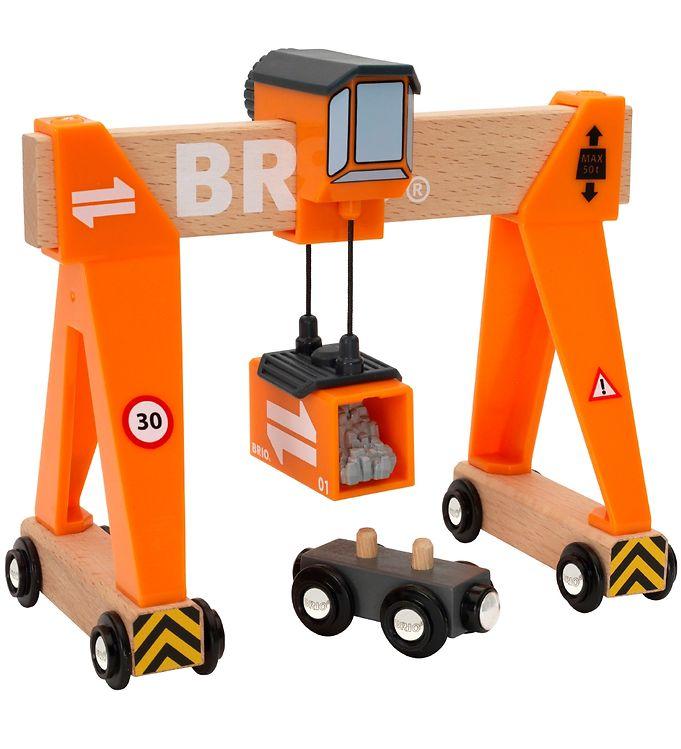 BRIO Kranbane - 4 dele - BRIO,BRIO Trælegetøj - Brio