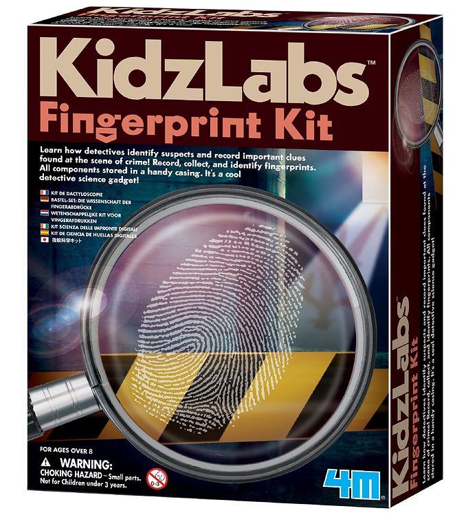 Image of 4M - KidzLabs - Fingeraftryk Sæt (XA200)
