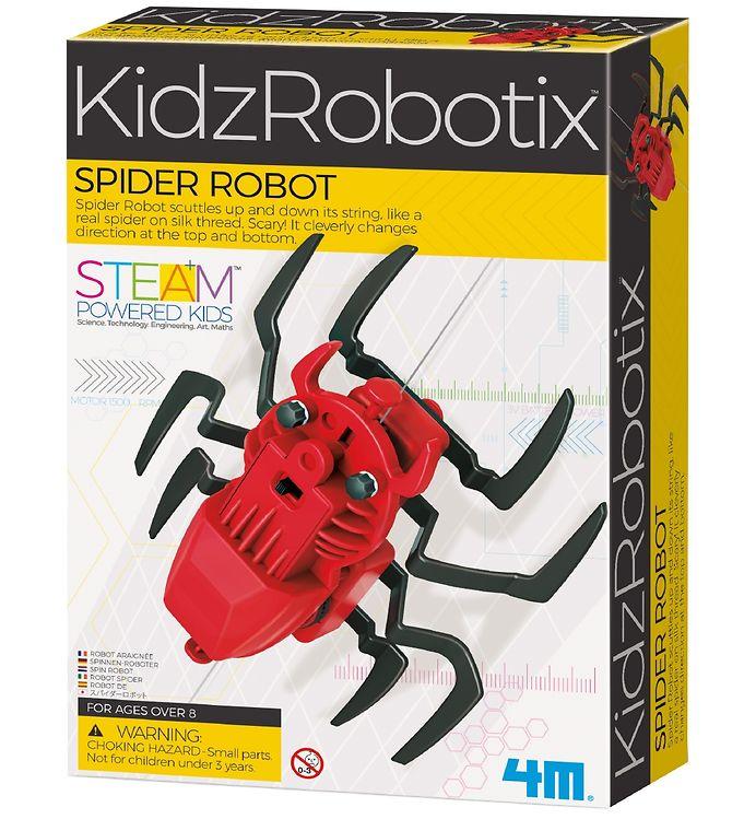 Image of 4M - KidzRobotix - Edderkoppe Robot (XA203)