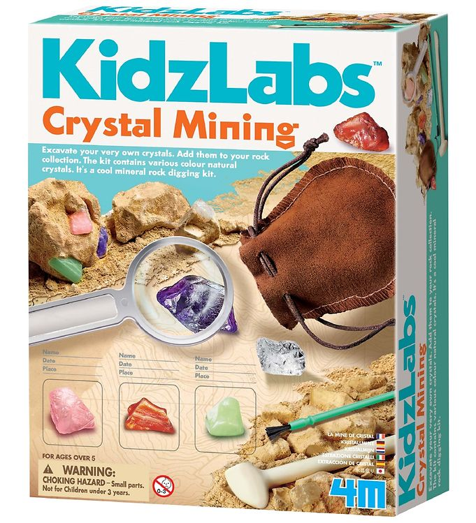 Image of   4M - KidzLabs - Krystalmine
