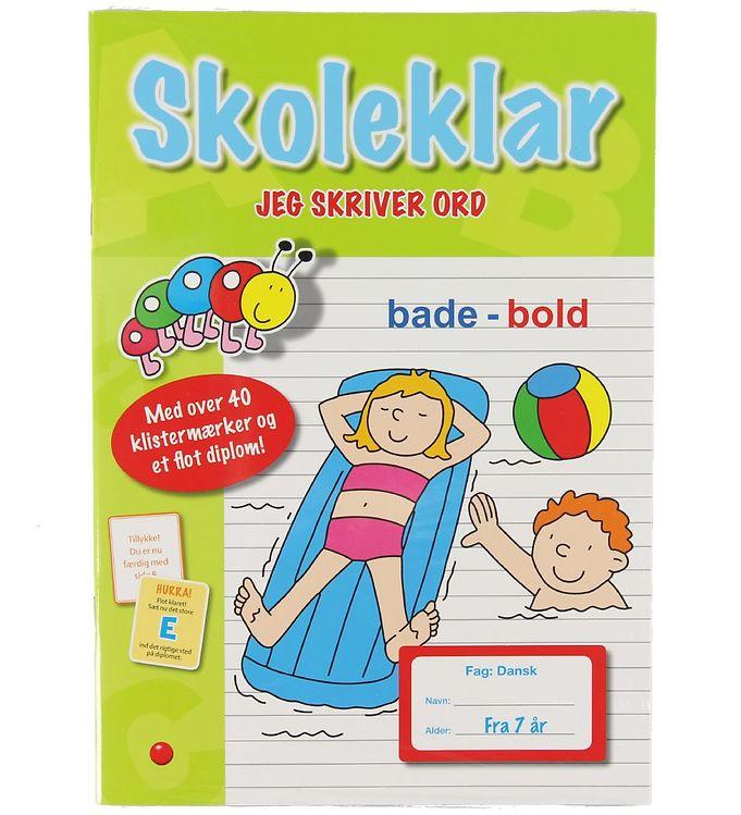Image of Forelaget Bolden Aktivitetsbog m. Klistermærker - Skoleklar - Je (XA253)