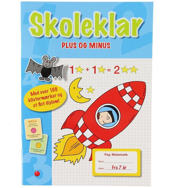 Image of Forelaget Bolden Aktivitetsbog m. Klistermærker - Skoleklar - Pl (XA255)