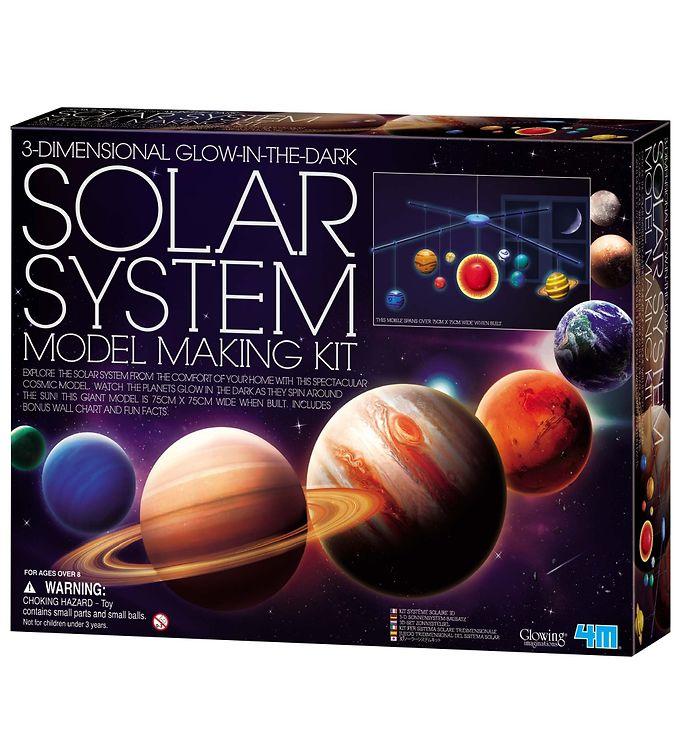 Image of   4M - KidzLabs - Solsystem Uro