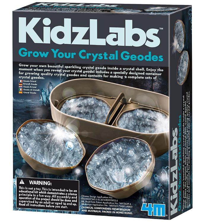 Image of 4M - KidzLabs - Geode Krystal Dyrker (XA292)