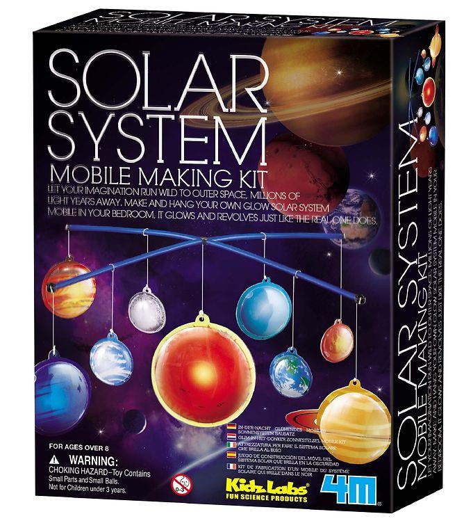 Image of 4M - KidzLabs - Solsystem Uro 2D (XA305)