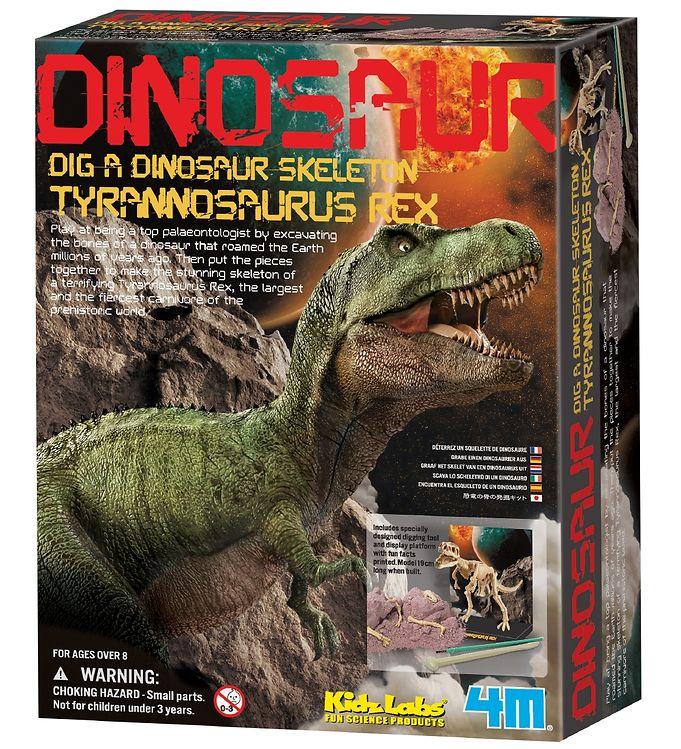 Image of 4M - KidzLabs - Udgravning Tyrannosaurus Rex (XA307)