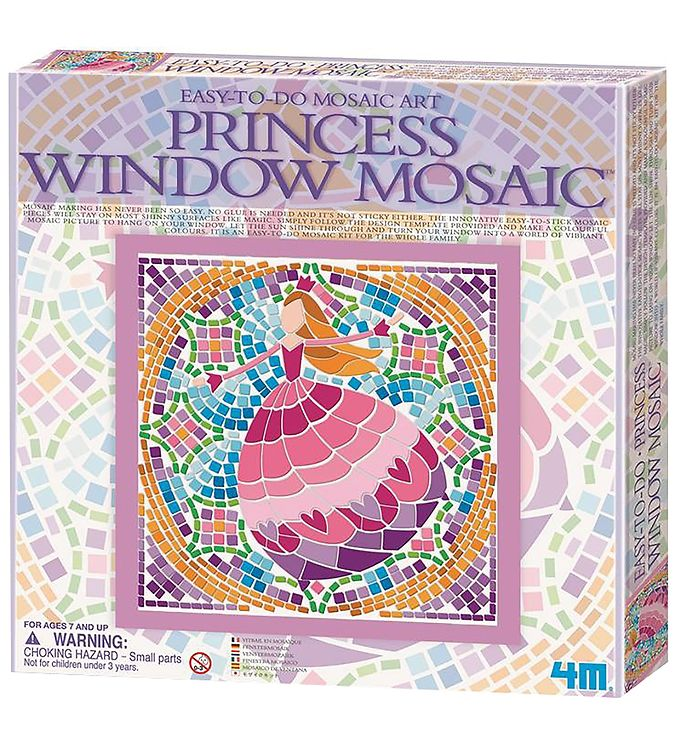 Image of   4M Mosaik - Easy-To-Do - Prinsesse